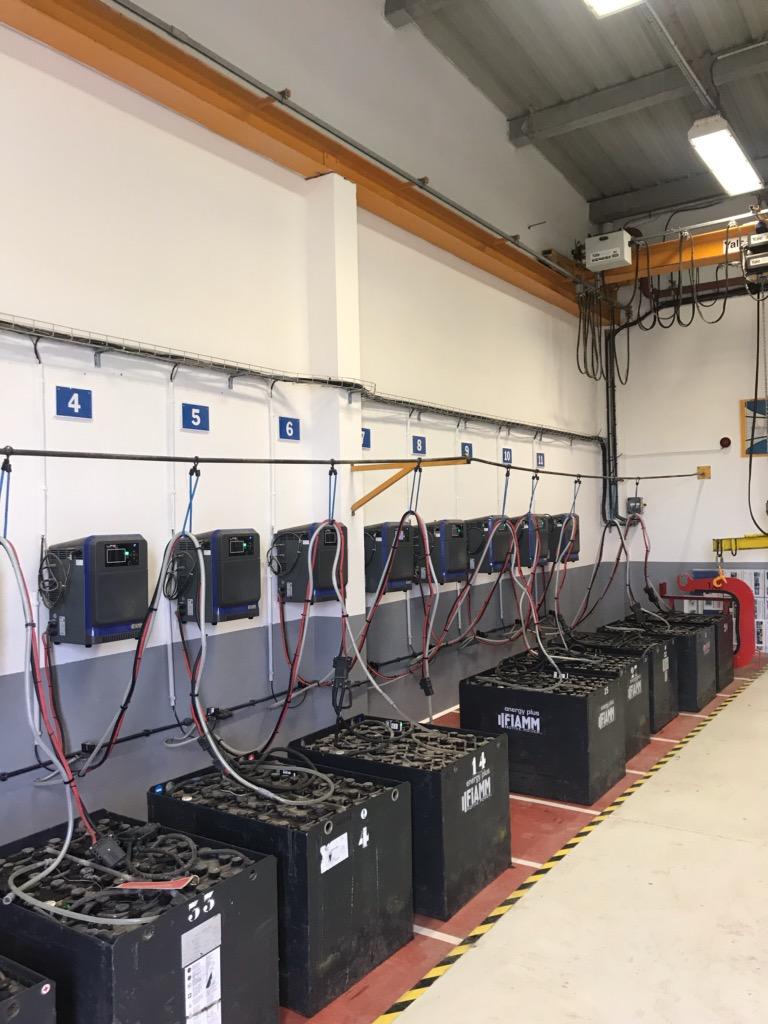 L'entreprise Energie Batterie Service vous assure la distribution ainsi que le dépannage de batteries et de chargeurs industriels.